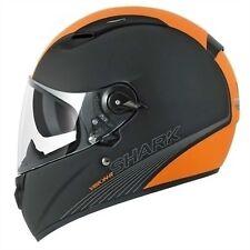 Shark Vision-R Be Cool Mat Motorcycle Helmet Matt Black Orange