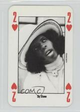 1991 New Music Express Playing Cards #2H Sly Stone Non-Sports Card 0w6