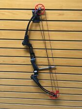 "Genesis Mini Compound Bow, RH, 15# Max, 14-25"" -  BLACK"
