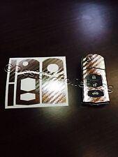 Carbon chrom silber Folie Schlüssel Mazda RX8 NC 2 3 5 6 MX5 SL CX 7 CX  9 uvm