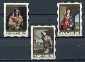 S27623) Dealer Stock San Marino 1980 MNH New Christmas 3v (X10 Sets)