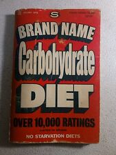 Brand Name Carbohydrate Diet - Success Publications (1975) - Pocket-sized
