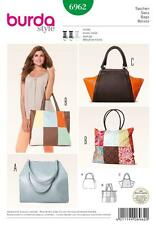 BURDA SEWING PATTERN Hip and trendy bags PATCHWORK  6962 A