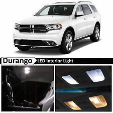 17x White Interior LED Lights Package Kit for 2011-2015 Dodge Durango
