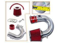 BCP RED 00-05 Celica GTS 1.8L VVTi Short Ram Air Intake Induction Kit + Filter