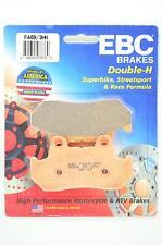 Sintered Double-H Brake Pads for 83-84 Honda VF750F V45 Interceptor Apps.