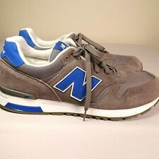 4d10f5c428199 NEW BALANCE | 565 Grey/Blue Suede Mens Running Shoes SZ 12M | FREE SHIPPING
