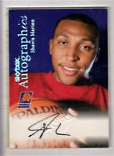 1999-00 Skybox Premium Autographics Shawn Marion Auto Autograph NM/MT+ Suns