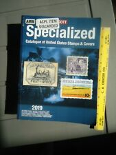 2019 Scott Specialized Catalogue of United States Stamps - Used but Okay!
