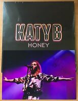 "KATY B,HONEY,2016 DOUBLE ALBUM,12"" LP33 + 12""x8"" HAND SIGNED PHOTO,COA.NEW"