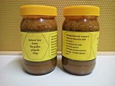 NATURAL HONEY WITH BEE POLLEN AND PROPOLIS STRONG IMMUNE SUPPORT 250 - 1000 gr