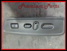 LINCOLN NAVIGATOR FRONT DRIVER SEAT BLACK LEFT SKIRT W/ 10 WAY POWER SWITCH OEM