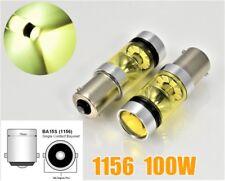 1156 P21W 7506 BA15S 3030 High Power LED Amber Bulb Front Turn Signal B1 U