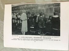 m17a7 book picture ephemera undated american telephone co telephone exchange