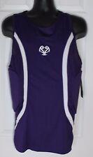 UA Basketball  MPZ Under Armour Compression Shirt XXL Purple White NWT $59.99