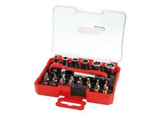 Powerfix bit and socket bit and socket set with twin-head ratchet