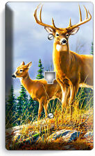WHITETAIL DEER BUCK PHONE TELEPHONE WALL PLATE COVER HUNTING CABIN ROOM HD DECOR