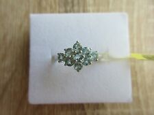 Madagascar Paraiba Apatite Ring Platinum Over Sterling Silver Size 7, 8 Option