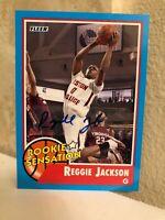 2011-12 Fleer Retro Rookie Sensation #65 Reggie Jackson RC Auto Autograph RARE