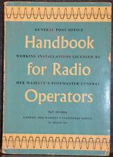 General Post Office : Handbook for Radio Operators 1961