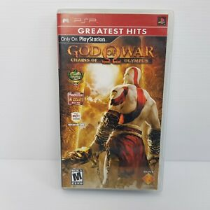 God of War Chains of Olympus PSP Video Game