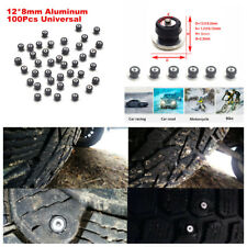 Car Truck Motorcycle Tires Studs Spikes Wheel Snow Chains Winter Anti-skid Nail
