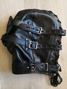 Latex Maske, Face Mask, Gay, Leder, Gummi, Rubber, Toy, Fasching, CSD.