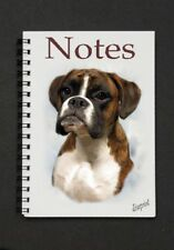 Boxer Dog Notebook/Notepad with small image on every page - By Starprint