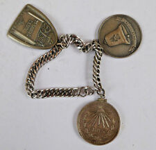 1945 Silver Mexican Peso St.Louis Dog Collar