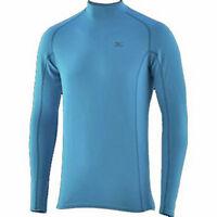 Mizuno Breath Thermo 73CF05232 Langarm Longsleeve  Shirt XS-XXL Herren blau