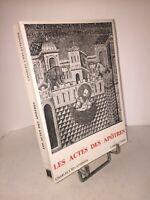 Les Actes des Apôtres par Charles L'Eplattenier | Ed° Labor & Fides