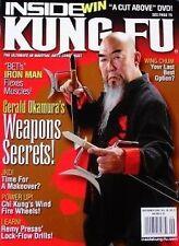 RARE 9/08 INSIDE KUNG FU GERALD OKAMURA BLACK BELT KARATE MARTIAL ARTS WING CHUN