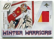 2010-11 Zenith Winter Warriors Material Prime Jacob Markstrom Rookie Patch 32/50