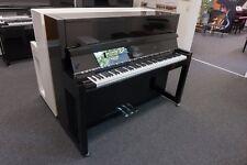 Klavier Feurich 115, Schwarz, Chrom, NEU, inkl. Bank