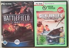 Battlefield 1942 Shooter + Silent Hunter 4 Starkiller of the Pacific Collection PC