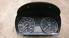 BMW E90 3 SERIES 320d MANUAL DASH CLOCKS, INSTUMENT CLUSTER PT,NO 62109283842