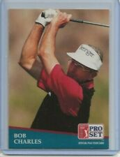 1991 Pro Set Bob Charles rookie card