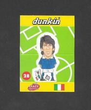 Dunkin Crazy Football 1998 Pop Up card #28 Zola of Italy