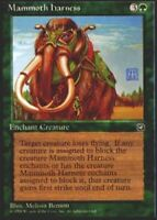 1x Mammoth Harness MTG Homelands NM Magic Regular