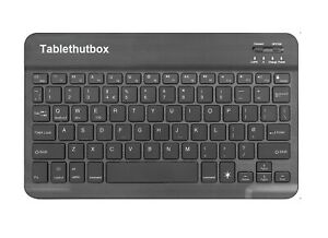 Slim Bluetooth Wireless UK QWERTY Keyboard Compatible with Acer Iconia One 10