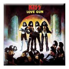 KISS - LOVE GUN - CLASSIC ALBUM COVER FRIDGE MAGNET