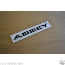 ABBEY GTS Vogue - (2007)(RESIN DOMED) - Name Sticker Decal Graphic - SINGLE