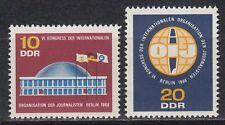 DDR East Germany 1966 ** Mi.1212/13 Journalismus Journalism Organization
