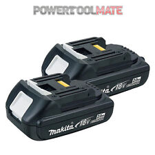 Makita Genuine BL1820 18V 2.0ah Lithium-ion LXT Battery UK - *TWIN PACK*