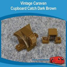 Caravan Cupboard Push Catch  ( DARK BROWN ) Franklin Viscount Jayco