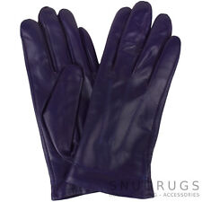LADIES BUTTER SOFT PREMIUM REAL LEATHER GLOVES WITH 3 POINT STITCH DESIGN