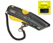 Easy Cut 2000 Safety Box Cutter Knife EASYCUT & PK OF 10 BLADES BEST EBAY DEAL