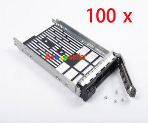 "100 PCS  R720 R710 R610 R520 R510 R420 R410 f238f/0X968D 3.5"" HDD TrayCADDY"