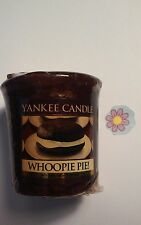 YANKEE CANDLE WHOOPIE PIE  VOTIVE HUNDREDS LISTED RARE AND AWESOME