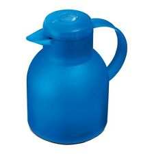 Emsa Samba Insulating Jug Quick Press 1 L Azure Jug 509819 Coffee Tea